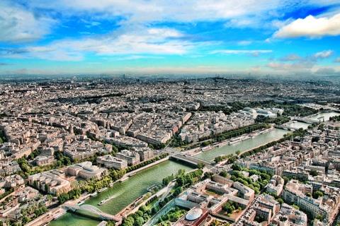 Pohled na Paříž