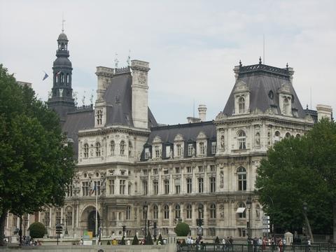 radnice v Paříži