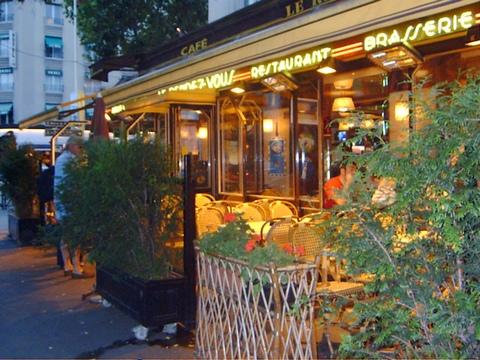 Restaurace v Paříži